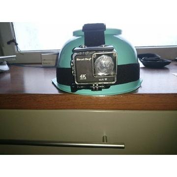 Kamera 4K,Ultra HD,WiFi Go Pro z oświet.led 6000K