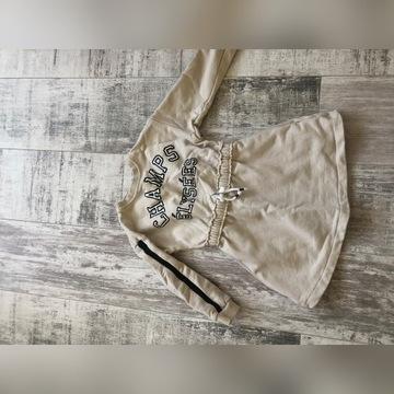 Sukienka dresowa  Zara r.110-116