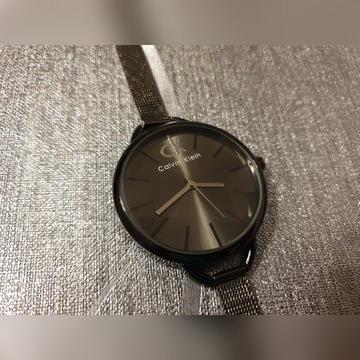 Damski czarny zegarek Calvin Klein