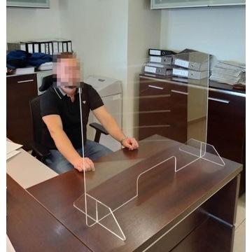 Szyba ochronna osłona do biura sklepu Płyta plexi