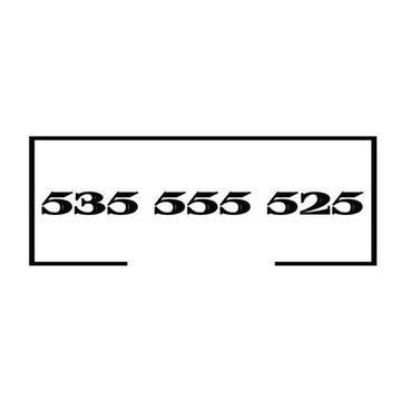 ZŁOTO PLATYNA ZŁOTY NUMER 535 555 525