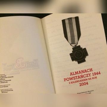 POWSTANIE WARSZAWSKIE, ALMANACH Z KALENDARZEM 2004