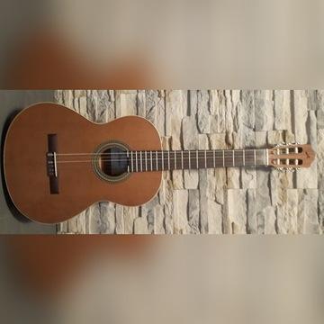 Gitara klasyczna - ALMANSA Study 400 + dodatki