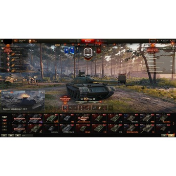 Ośmioletnie konto do World Of Tanks