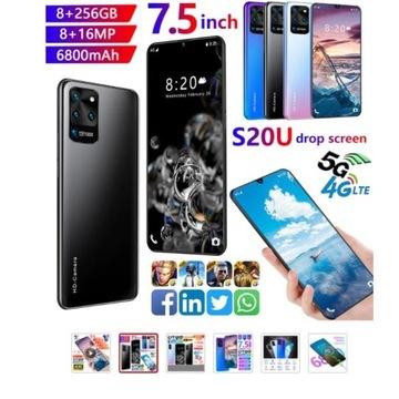 "Telefon Galay S20U 7.5 ""8GB RAM 256GB 6800mAh dual"