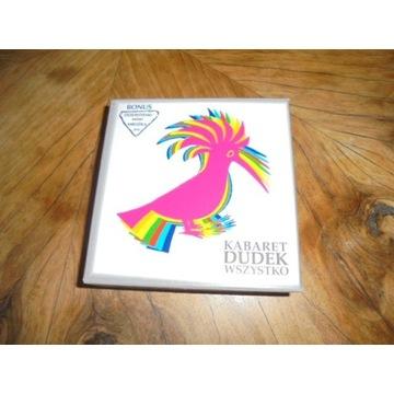 Kabaret Dudek WSZYSTKO  12 CD, 1 DVD, booklet 74s.