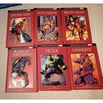 Pakiet komiksów Superbohaterowie Marvela 28 sztuk