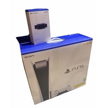 PlayStation 5 wersja z napędem + 9 gier.