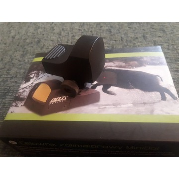 Kolimator Delta MiniDot z montażem