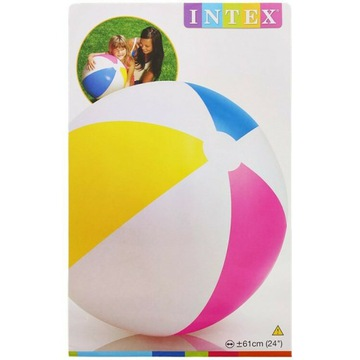 Bardzo duża piłka do zabaw wodnych na Plażę 61cm!!