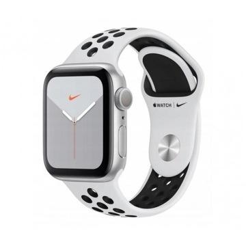 Apple Watch 5 Nike 44mm Silver Black Sport GPS
