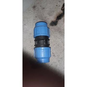 Złączka wodociągowa 50mm zakończenie wodociągowe