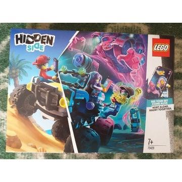 LEGO HIDDEN SIDE Łazik plażowy Jacka 70428