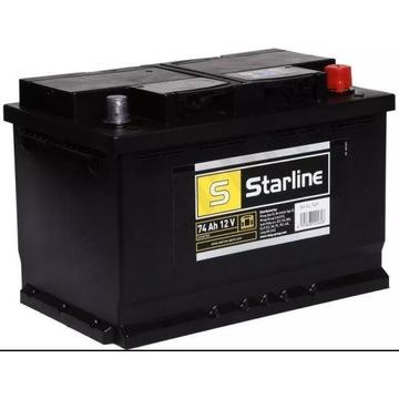 Akumulator Starline 74Ah 680A 12V