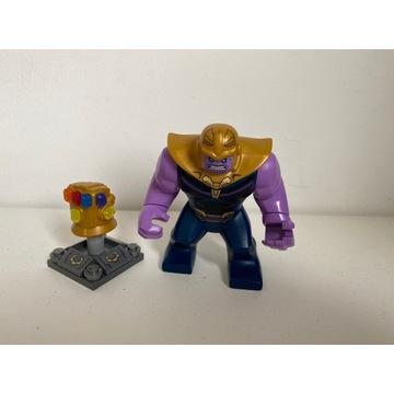 Lego Thanos Figurka I Rękawica 6 Kamieni 76107