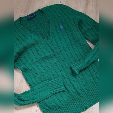 Nowy sweter Ralph Laurent XS zieleń