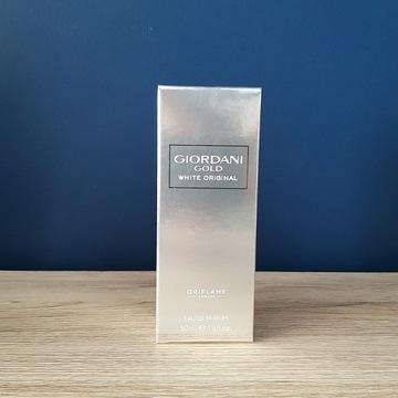 Oriflame Giordani Gold White Orginal 50 ml folia