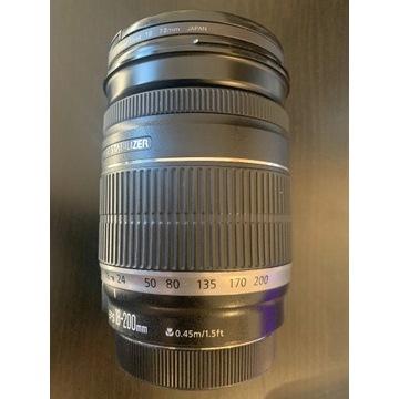 Canon EF-S 18-200 mm f/3.5-5.6 IS (stabilizacja)