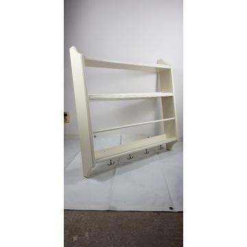 Półka kuchenna z IKEA. Biała.