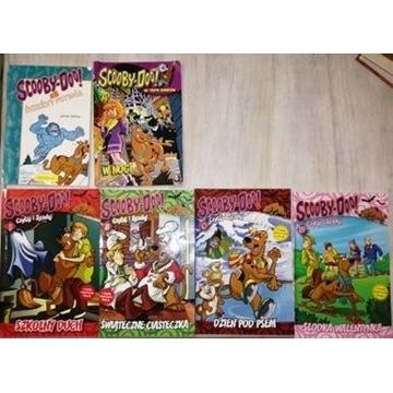 "Komiksy ""Scooby Doo"" (6 sztuk)"