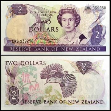 Nowa Zelandia 2 Dollar 1986 UNC