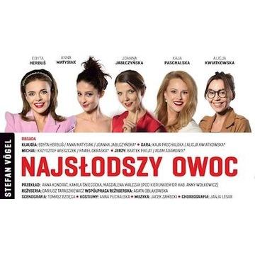 2xBilet Najsłodszy Owoc Opera Filharmonia Podlask