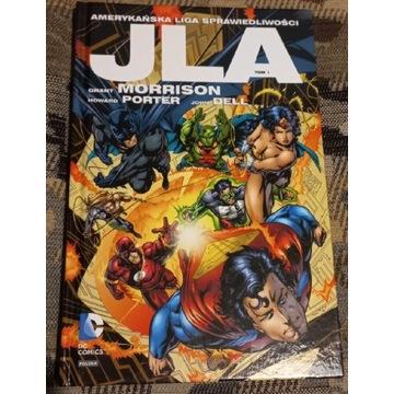 JLA Amerykańska Liga Sprawiedliwości Tom 1 DC