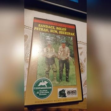 Sztuka wędkowania-film VHS-tanio