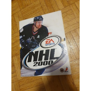 NHL 2000 - big box - unikat - EA Sports pudełko
