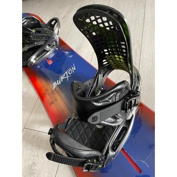 Wiązania snowboardowe Burton modelu Genesis EST M