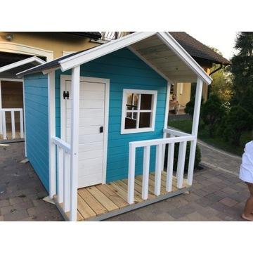 Domek drewniany dla dzieci, drewniany do ogrodu