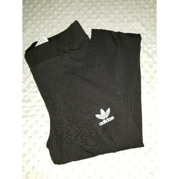 Leginsy czarne Adidas Xl