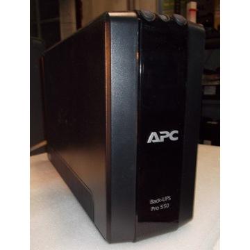 Zasilacz awaryjny APC model Back-UPS Pro 550