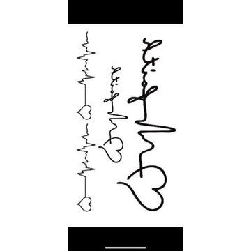 Tatuaż wodoodporny tymczasowy nr. 28