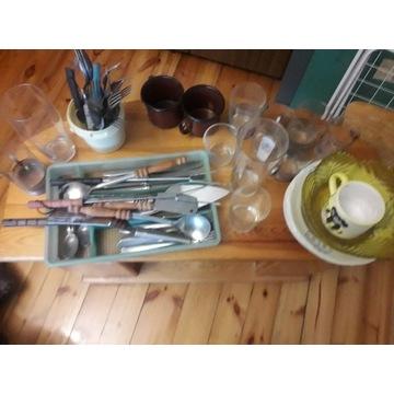 Sztućce i naczynia mix