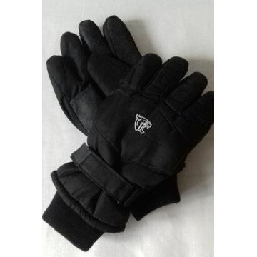 Rękawiczki zimowe męskie Reserved rower, motocykl.