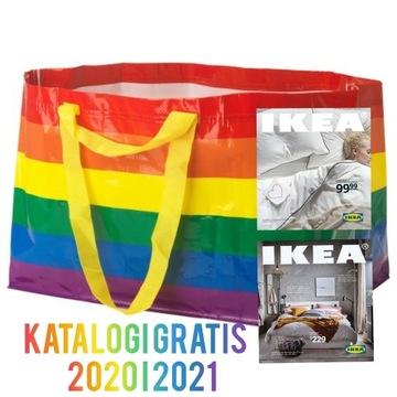 IKEA Torba Storstomma tęczowa LGBT + Katalog 2021