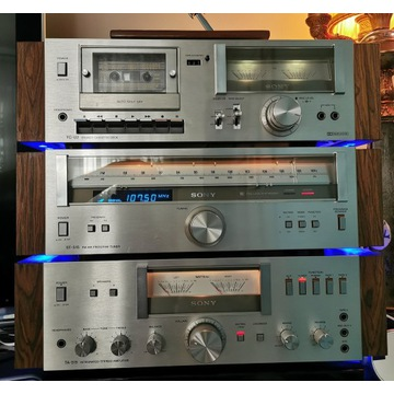 Sony wieża vintage Sansui Marantz st-515 ta-515