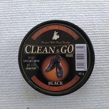 Pasta do butów czarna Clean&Go