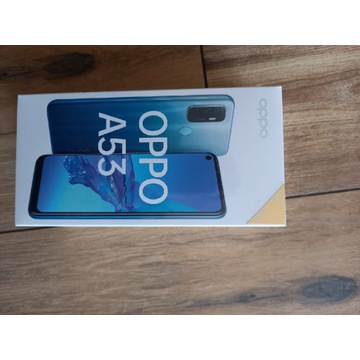 Smartfon Oppo A53 4/128GB błękitny okazja