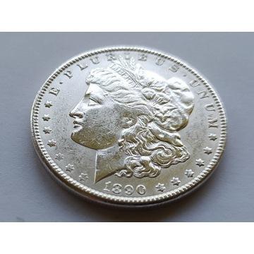 USA dolar 1890r  Morgan ag  Rzadka