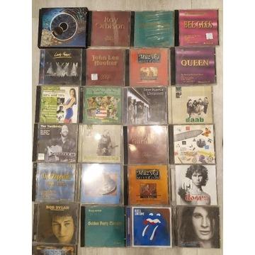 Płyty CD i stojak