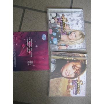 Hannah Montana 3 Disney Songs Soundtrack 3 cd 2009