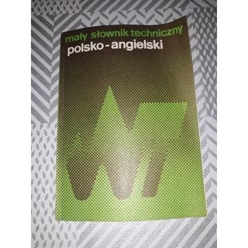 Mały słownik polsko angielski techniczny