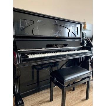 XIX-wieczne pianino C.M. Schroeder po renowacji