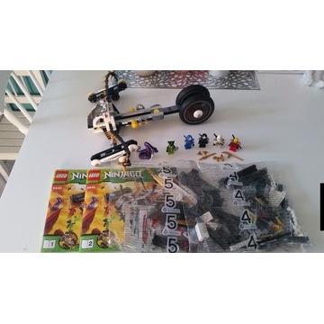 Lego 9449 ninjago pojazd ultradźwiękowy