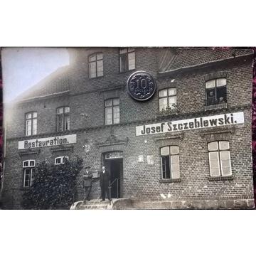 Pelplin restauracja Szczeblewski ok. 1910