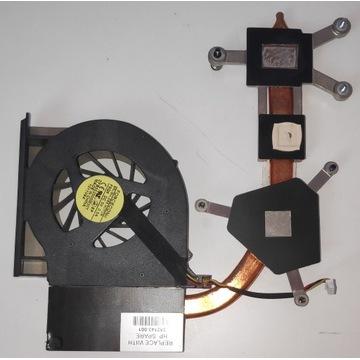 Wentylator + blok chłodzący HP COMPAQ CQ61 G61