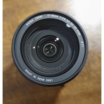 Obiektyw SIGMA  AF 17-50/2.8 EX DC OS HSM (canon)