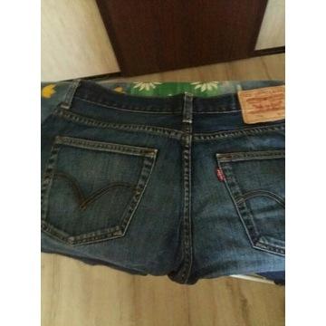 Spodnie męskie jeans levis
